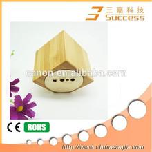 2014 Factory direct supply wooden portable speaker, 100% nature wooden speaker