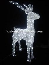 3D ABS led christmas reindeer motif light