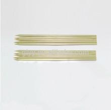 Top grade flat tableware bamboo pick skewer stick