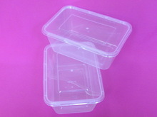 very cheap clear lunch box Eco-friendly food container