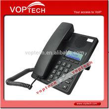 IP Phone, HD Voice, 2 SIP Lines, 4 Soft Keys