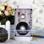 white D90 black colour magenetic tape case for iphone 5 mobile phone case