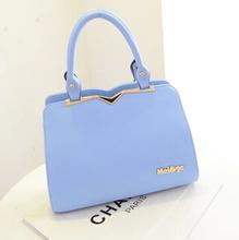 2014 Fashion solid bag heavy material Designer Women handbag Factory price