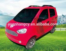 Hot sale comfortable 4 seats solar electrical car --Sunshine E-Car EJ