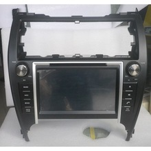 HANOSVOR 8inch touch screen double din special car dvd player for 2012 toyota camry gps navigation