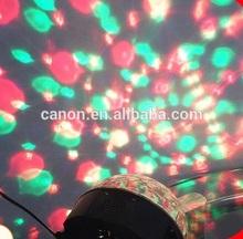 2014 Hotsale!!!Romantic disco led light bulb speaker GRB LED FLASH , bluetooth speaker on the party, led projector speaker