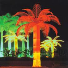 vivid waterproof led decorative light palm tree at indoor & outdoor