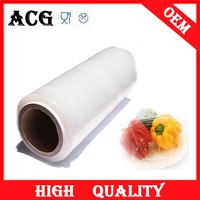 Fruits and vegetables cling film perforated for wrapping food