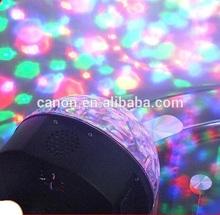 2014 Hotsale!!!Romantic light speaker GRB LED FLASH , bluetooth speaker on the party, led projector speaker