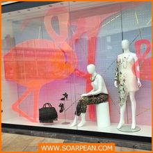 Fashion Shop Window Displays Adhesive Strip