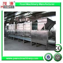 Continuous nut roaster/peanut roasting machine/almond dryer/cashew nut oven