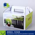 caja de papel rígido de cartón material para llevar 8 pulgadas tortas