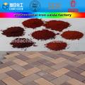 تصنيع سلسلة أكسيد الحديد الصباغ الأسود/ الأحمر/ البني/ الصفراء