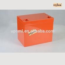 Ocean MSDS solar batteries 1000ah for solar energy storage