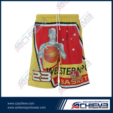 fashion style basketball short basketball jersey for team