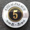 Casino Acrylic Poker Chip,token coin
