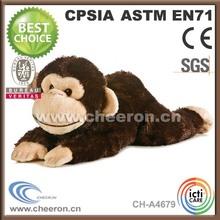 Big mouth monkey doll, plush and stuffed monkey toy