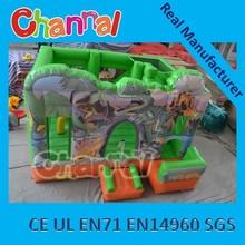 inflatable Dinosaur bouncy slide/inflatable bouncer slide