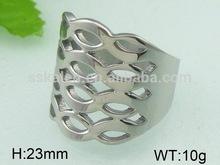 gioielli vintage personalità anello in acciaio inox