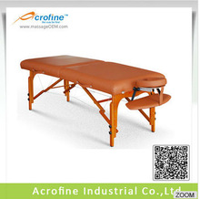 Acrofine Juppiter-ll Wooden portable Massage Table/Bed with Deluxe Pu leather