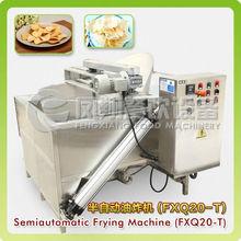 FXQ20-T new release semi-automatic potato chips frying machine