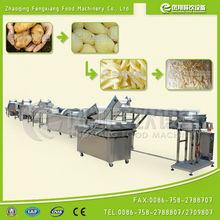 WP-1000 Potato French Fries Machine, washing peeling cutting weighing packing Production Line ..............Nice!
