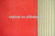 Stocklots of cotton fabric 100%cotton corduroy 11w 14w stocklot fabric in china