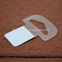 Adhesive display hook/adhesive hang tab