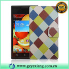 For HTC Desire X Leather Flip Case, Designer Case For HTC