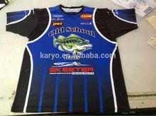 Custom Club Mens' Fishing Jersey,Club Fishing Wear,Club Fishing Shirts