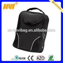 nylon durable double zipper shoe bag