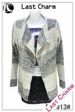 LAST CHARM Women stripes pattern designs of woolen sweaters