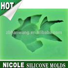 Q0001 fish shape Nicole sugar fondant cake decoration silicone cake molds