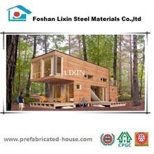 Lixin modern prefab container modular house for living