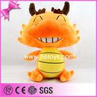 Happy Chinese tradition animal orange plush baby drogonat doll