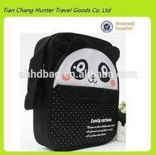 lovely cartoon pandan image 600D polyester messenger bag,kids messenger bag