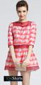 Sscshirts güzel ucuz design100% uzun kollu gece elbisesi