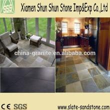 Different size flooring stone