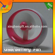 Hot selling high quality computer mini USB gift Fan.