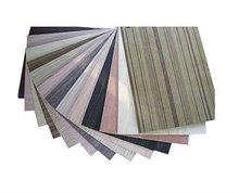 E0 E1 glue eco Slot MDF/ Plain/Wood Veneer/PVC /HPL/UV/Melamine Laminated MDF and HDF Board