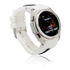 China manufacturer pebber smart watch mobile phone wrist watch work for apple iphone 5s wifi gps dual bluetooth
