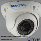 2MP outdoor security weather-proof HD 1080P ONVIF IR IP cctv dome camera
