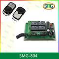 12/24v dc longa distância controleremoto 4 smg-804 relay