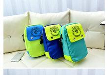 2014 Latest Designer Bags women Fluorescent nylon color collision Shoulder bag