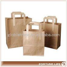 produksi baru 2014 belanja kantong kertas kerajinan coklat