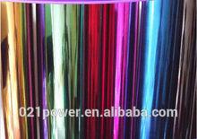 Supreme Wrapping Film Chrome Flexible Vinyl Wrap Film Shine