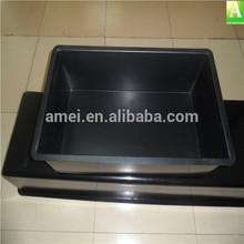 ABS vacuum forming plastic black plant seeding pot
