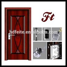 4728 new style best quality curtains for sliding glass doors steel door metal security doors