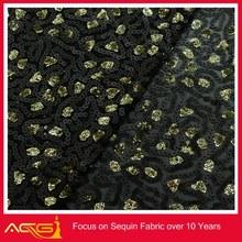 Confeti de lentejuelas tela elástica 100% de poliéster de la boda vestido de la decoración del acuario de hueso