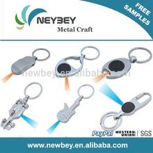 2014 wholesale led light keychain